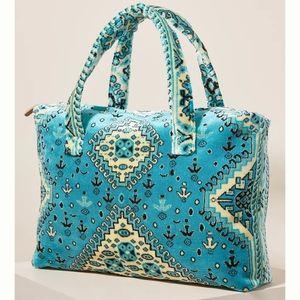 Anthro Lalla Marrakech Petit Socco Carpet Tote Bag